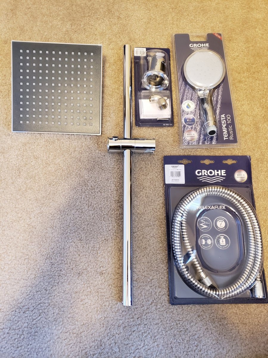 GrohFlex Hand Held Shower Assembly And Rainshower Head.jpg